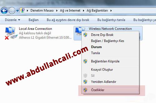dns3  Windows 8 Dns Değiştirme Resimli Anlatım dns3