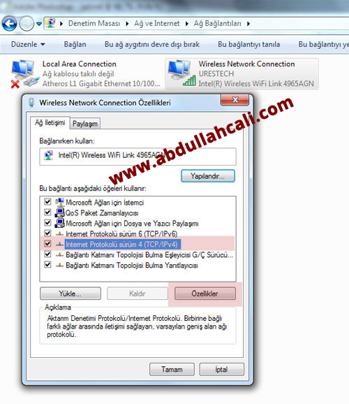dns4  Windows 8 Dns Değiştirme Resimli Anlatım dns4