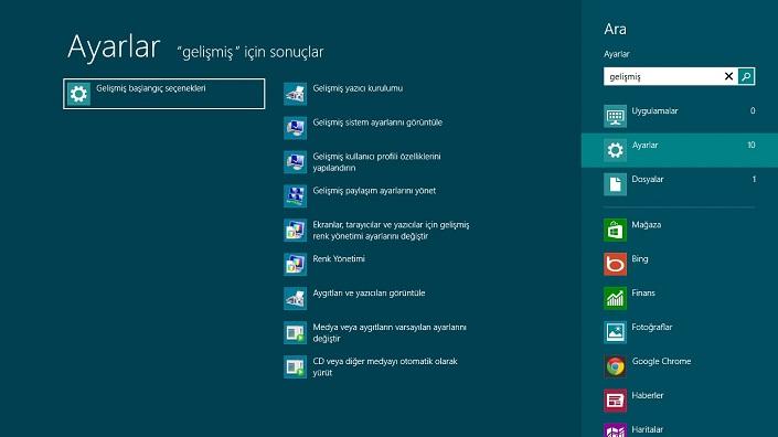 win8-1  Windows 8 Güvenli Modda Nasıl Başlatılır win8 1
