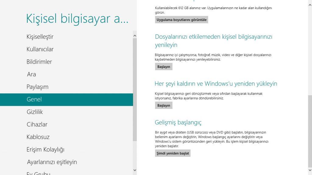 win8-2  Windows 8 Güvenli Modda Nasıl Başlatılır win8 2 1024x577