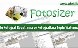 Toplu Fotoğraf Boyutlama ve Fotoğraflara Toplu Watermark Yapma