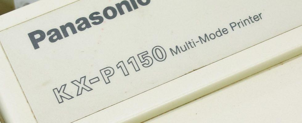 Panasonic KX-P1150 yazıcının Windows 8 ve Windows 10'a kurulumu